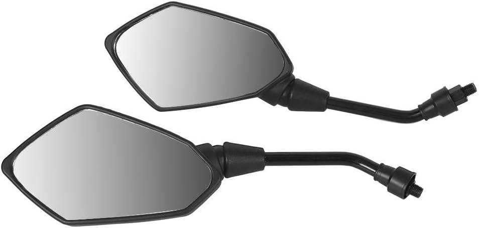 KIMISS 8mm 8mm 10mm Coppia specchi retrovisori moto Modifica specchietti retrovisori specchi retrovisori manubrio