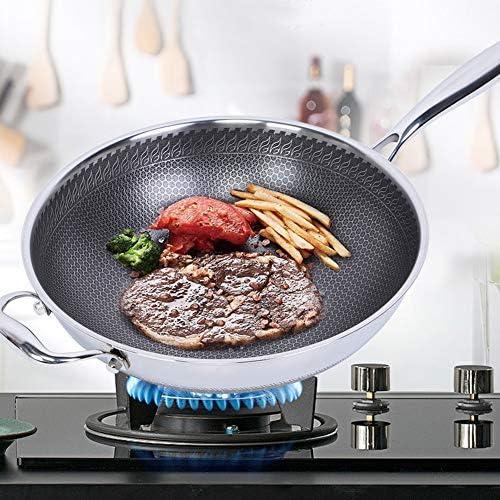 Estink Poêle à Frire antiadhésive, poêle antiadhésive de 32 cm, poêle à Frire Cuisine pour la Maison
