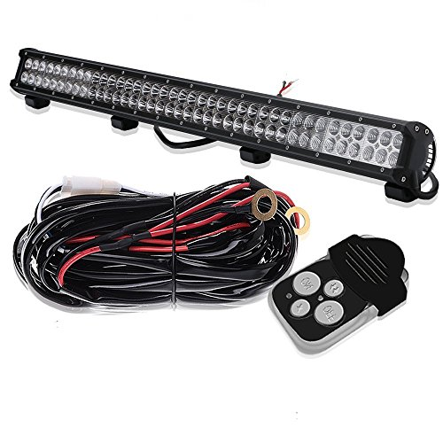 36In 234W Combo Beam Led Light Bar Brush Bar Grill Guard Roll Bar Push Bumper Roof Rack Canopy Work Light For Rzr Atv Vehicle Silverado Tractor F250 Chevy Pickup Sierra Xterra Jeep Grand Honda Pioneer