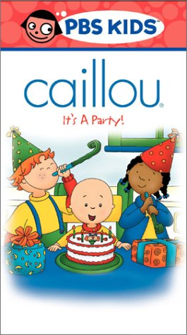 Caillou - It's a Party [VHS]