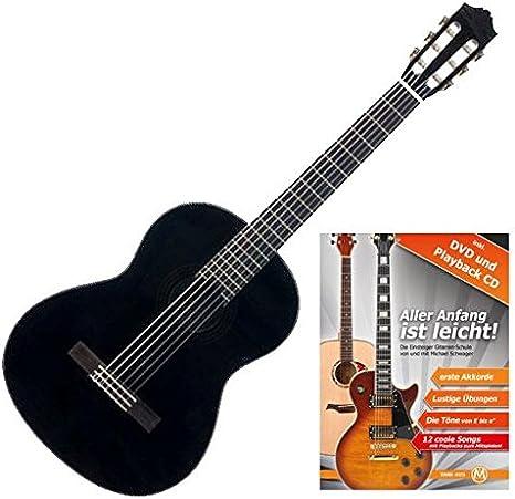 Yamaha C40BL – Guitarra de concierto (Ideal para principiantes ...