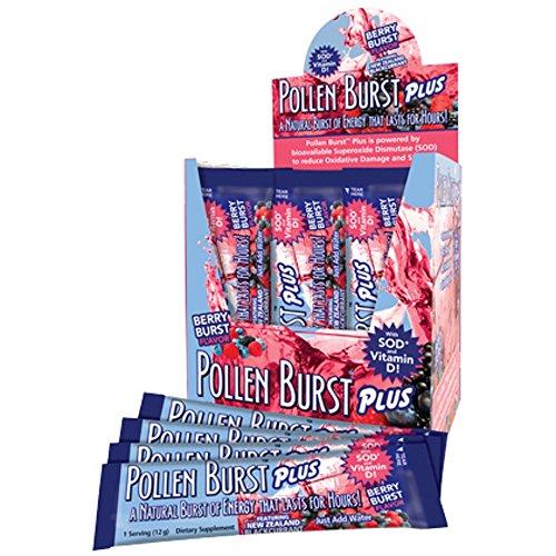 (INTERNATIONAL SHIPPING) Projoba Pollen Burst Plus Berry 30 Ct Box Youngevity Energy Drink -  1