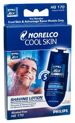 Philips Norelco HQ170 Cool Skin Nivea for Men Lotion Replacement Cartridge