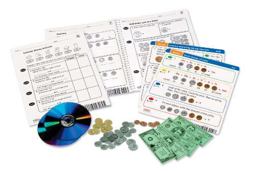 Learning Resources Radius CD Card Set Math: Money Grades 1-2