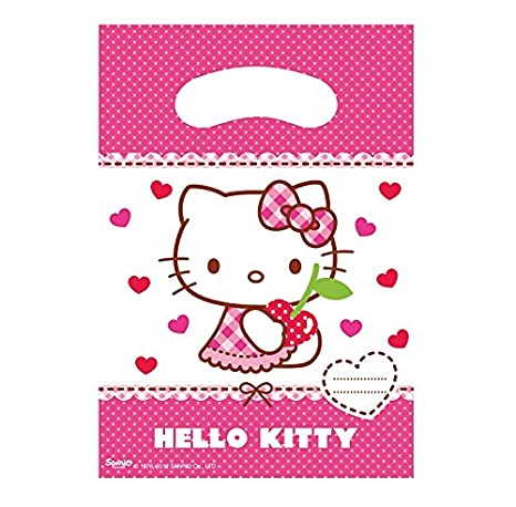 Lot 6 bolsita sorpresa Hello Kitty - Bolsa de regalo ...