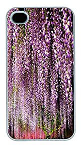 APPLE iPhone 4 4s Case, Unique Designer Hard Case Covers For Apple iPhone 4 4s with flower 652