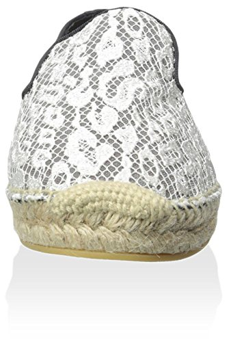 As Dames Espadrille Wit