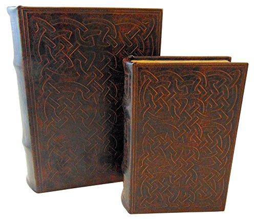 Celtic Box - Vintage Classic Celtic Knot Motif Irish Secret Book Box Set