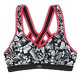 Victoria's Secret Incredible Strappy Back Sports Bra 32D Reflective Rockscape
