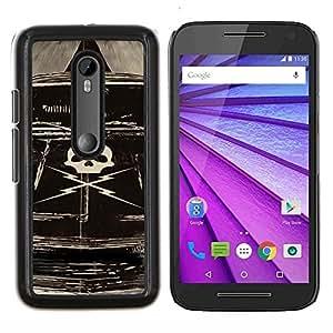 Stuss Case / Funda Carcasa protectora - Deathproof coche - Motorola MOTO G3 / Moto G (3nd Generation)