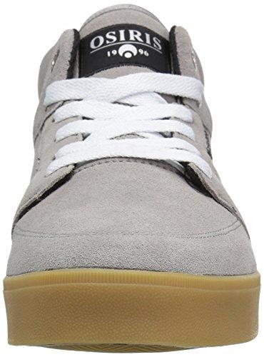 Osiris Men's Helix Skateboarding Shoe Charcoal/Charcoal/Silver free shipping 2014 new ooYtWzk