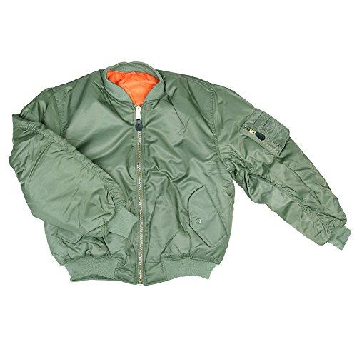 Originale Garments Bomber Verde 1 Militare Ma Usa Fostex vAq7S
