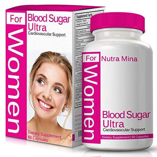 Leaf Gymnema (Flash Sale - Blood Sugar Ultra for Women, Naturally Supports Healthy Blood Glucose Levels, with Banaba Leaf, Bitter Melon, Gymnema Sylvestre, Guggul & Herbs for A Healthier Metabolism, Made in USA)