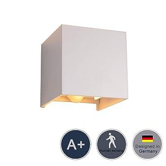Relativ Klighten Aussen/Bewegungsmelder Innen LED Wandlampe, 12W XG62