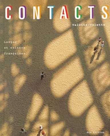 Contacts Sixth Edition (French Edition) (Contacts French Book)