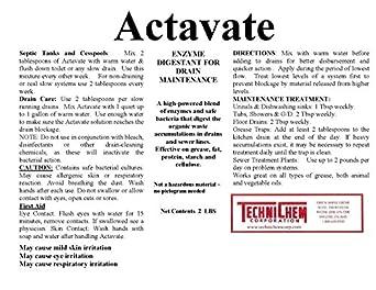 Amazon.com: technichem Corporation actavate, Bacterial ...