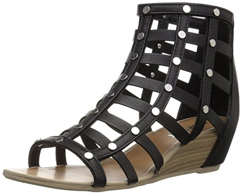 Maxton Black Women's Sandal Report Wedge 5Z7qSv