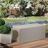 Outdoor Patio Durable Waterproof Furniture Storage Deck Box Cover Rectangular