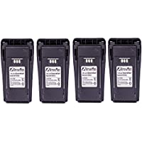 4 Pack Maxtop AMCL4497-2500-D NNTN4497 2500mAh High Capicity Liion Battery for Motorola CP200 MOTOTRBO CP200D EP450
