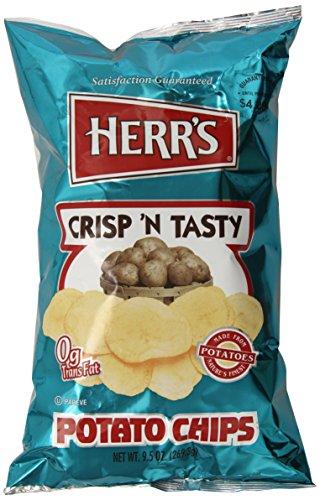 (Herr's Regular Potato Chips, 9.5 Ounce)