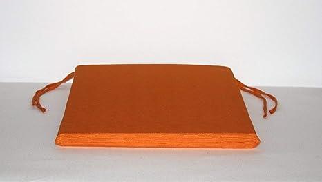 Arketicom pacco da cuscini artigianali per sedie quadrati con