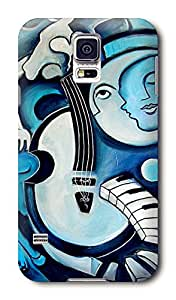Trendy and Practical Abstract Artist Painting Hard Case for Samsuang Galaxy S5