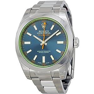 Rolex Men's m116400gv-0002 Milgauss Blue Watch