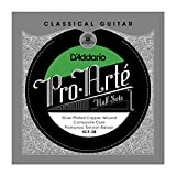 D\'Addario SCF-3B Pro-Arte Silver Plated Copper on Composite Core Classical Guitar Half Set, Flamenco Tension