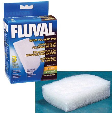 - Fluval Water Polishing Pad