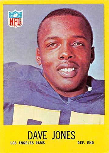 Football NFL 1967 Philadelphia #90 Deacon Jones NM LA Rams ()