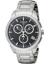 Tissot Mens T0694174406100 Quartz Titanium Grey Dial Chronograph Watch