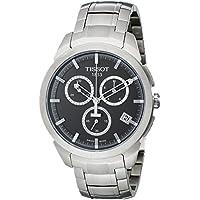 Tissot Men's Quartz Titanium Casual Watch, Color:Silver-Toned (Model: T0694174406100)