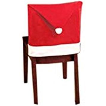 Housses De Chaise Chapeau Hemlock De Pere Noel Red Hat Diner Chaise
