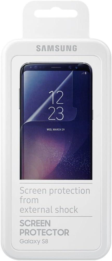 SAMSUNG ET-FG950 Galaxy S8 Protector de Pantalla 2pieza(s): Amazon.es: Electrónica