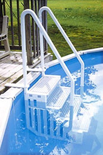 New Confer Step 1 Above Ground Swimming Pool Ladder Heavy
