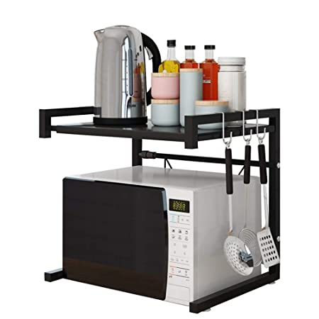 Soporte de horno microondas Rejilla de horno de microondas Estante ...