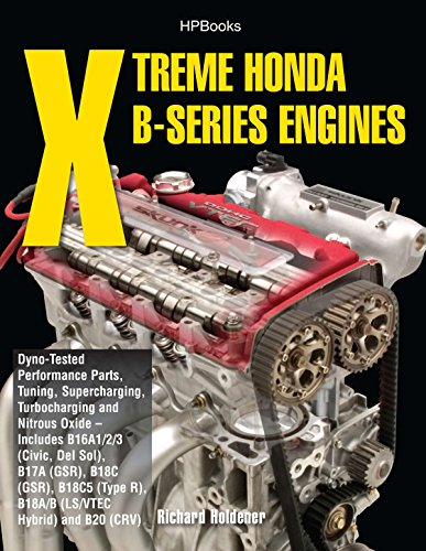 (Xtreme Honda B-Series Engines HP1552: Dyno-Tested Performance Parts Combos, Supercharging, Turbocharging and NitrousOx ide--Includes B16A1/2/3 (Civic, Del Sol), B17A (GSR), B18C (GSR), B18C5 (TypeR,)