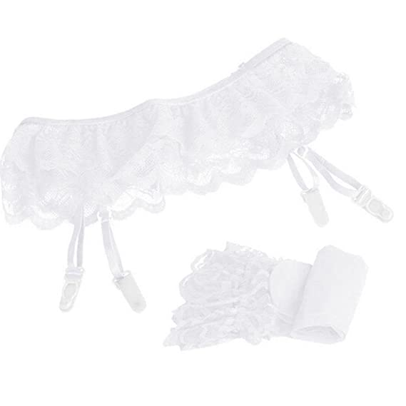 821211903 Amazon.com  Women Lace Stocking