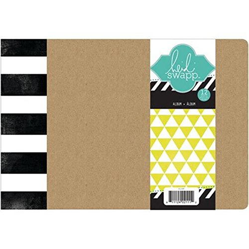 Heidi Swapp Chipboard Album, 6 by 8-Inch ()