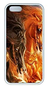 3D horse 2 TPU White awesome iphone 6 4.7 case for Apple iphone 6 4.7