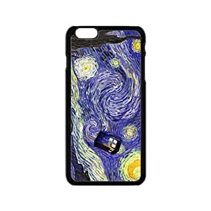 Doctor Starry night painting Who Cell Phone Case for Iphone 6