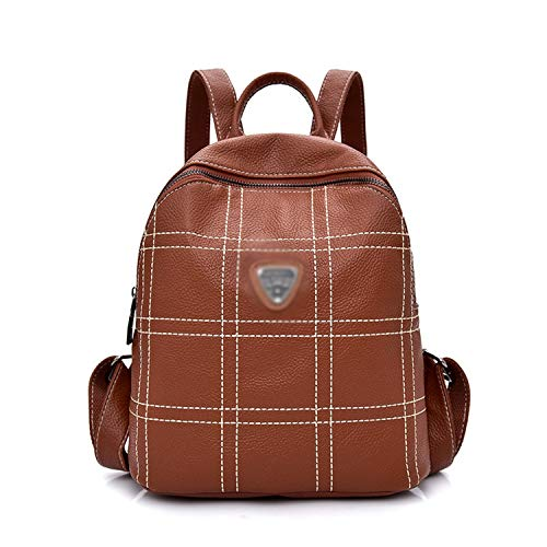 Amazon.com: New Bagpack Fashion Women Backpackyouth Leather ...