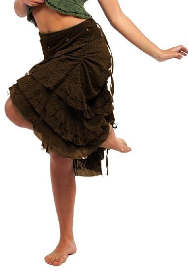 Gekko - Falda - Steampunk. - para Mujer Marrón marrón Talla única ...