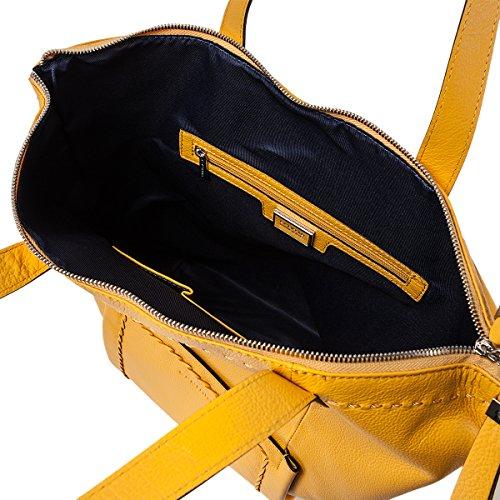 Cromia , Pochette pour femme jaune jaune