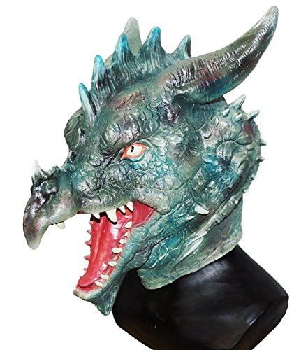 Dragon Head Mask for Halloween Party Carnival Mask (Dragon Halloween Mask)