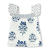 The Children's Place Baby Girls Short Sleeve Top, Simplywht 01578, 18-24MONTH