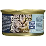 Pet Guard (C) Cat, Savory Seafood Dinner, 3-Ounce (Pack of 24)