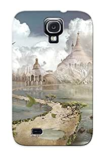 Kgkcig-874-zwdfzit Case Cover, Fashionable Galaxy S4 Case - Medieval Castle