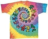Grateful Dead - Spiral Bears T-Shirt Size L