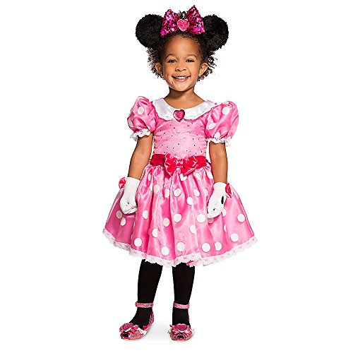 Disney Minnie Mouse Costume for Kids - Pink Size 3 -